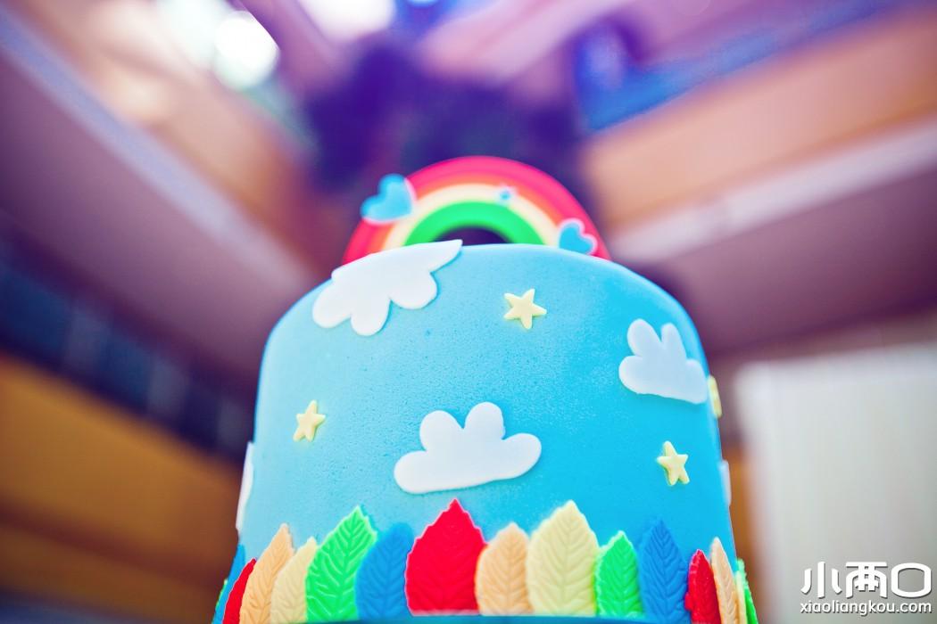 怎么用海绵纸做彩虹