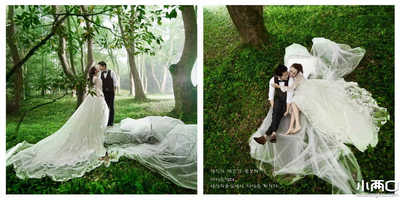 武汉龙摄影时尚婚纱摄影——《落雁岛之约》