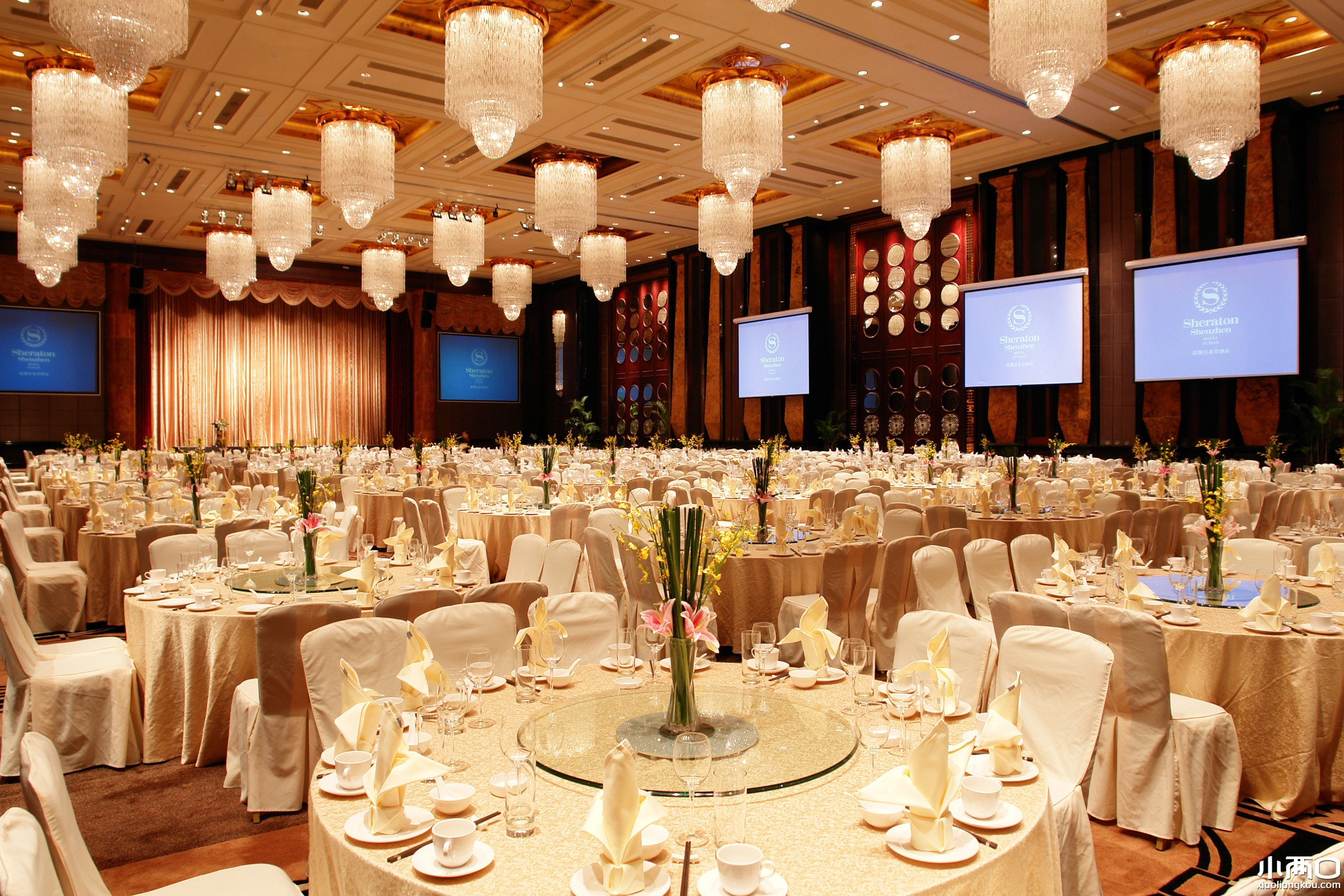 青岛银沙滩温德姆宴会厅
